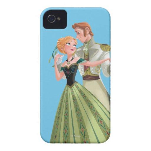 Ana y Hans iPhone 4 Case-Mate Funda