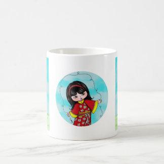 Anabella, Anabella Round, Anabella Classic White Coffee Mug
