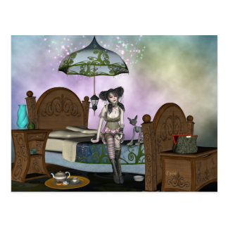 Anabella's Enchanting Rest Postcard