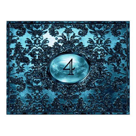 Anabelle  Goyle  Victorian Table Number Card