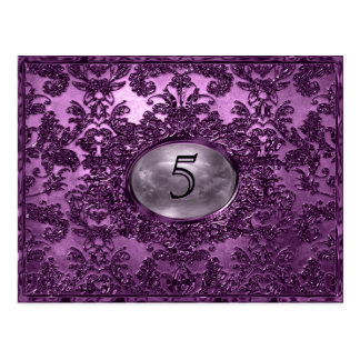 Anabelle  Plaza Victorian Table Number Card