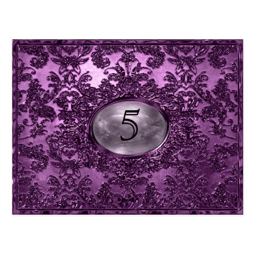 Anabelle  Plaza Victorian Table Number Card Post Cards