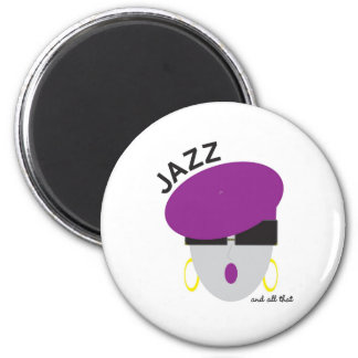 "AnabelNY ""Jazz"" Magnet"