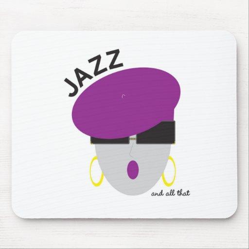 "AnabelNY ""jazz"" MousePad Alfombrillas De Raton"