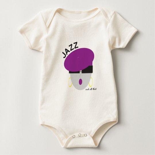 """AnabelNY """"Jazz"""" Onsie Baby Bodysuit"""
