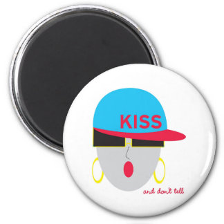 """AnabelNY """"Kiss"""" Magnet"""