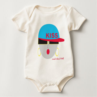 "AnabelNY ""Kiss"" Onsie Baby Creeper"