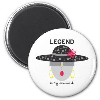 "AnabelNy ""Legend"" Magnet"