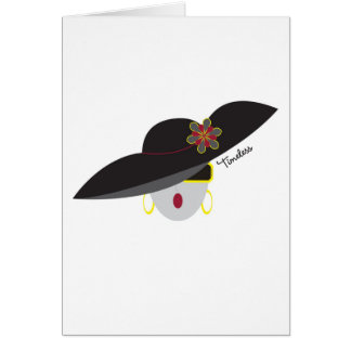 "AnabelNY ""Timeless"" Greeting Card"