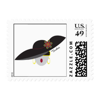 "AnabelNY ""Timeless"" Postage Stamp"