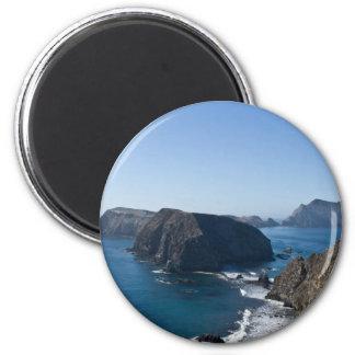 Anacapa Island 2 2 Inch Round Magnet