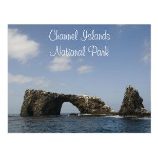 Anacapa Island Arch Channel Islands National Park Postcard