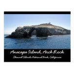 Anacapa Island Arch Rock Postcard
