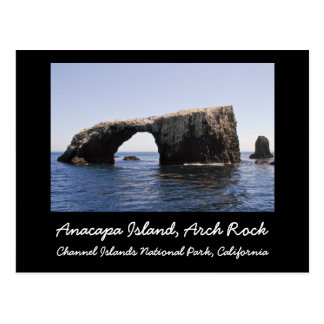 Anacapa Island Arch Rock Post Card