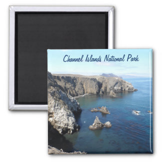 Anacapa Island- Channel Islands National Park 2 Inch Square Magnet
