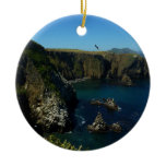 Anacapa Island II at Channel Islands National Park Ceramic Ornament
