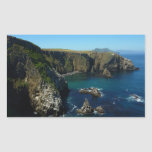 Anacapa Island II at Channel Islands National Park Rectangular Sticker