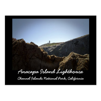 Anacapa Island Lighthouse Postcard