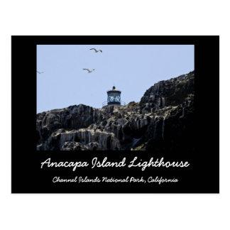 Anacapa Island Lighthouse Post Card