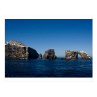 Anacapa Island Postcard