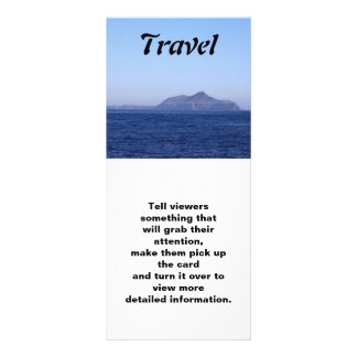 Anacapa Island, Travel, Rack Card
