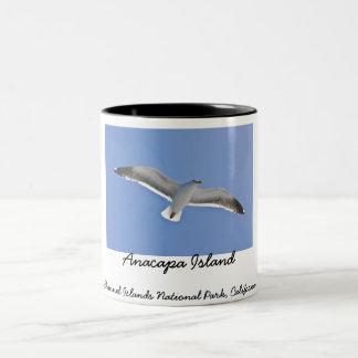 Anacapa Island Two-Tone Coffee Mug