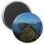 Anacapa's Inspiration Point I in Channel Islands 2 Inch Round Magnet