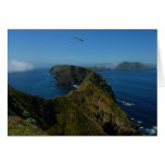 Anacapa's Inspiration Point I in Channel Islands Greeting Card