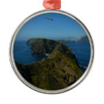 Anacapa's Inspiration Point I in Channel Islands Metal Ornament