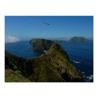 Anacapa's Inspiration Point I in Channel Islands Poster