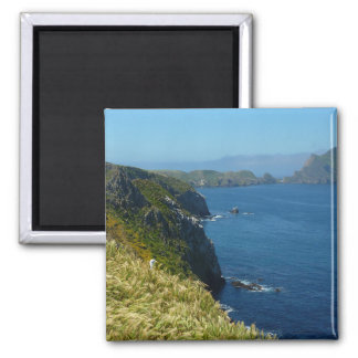 Anacapa's Inspiration Point II in Channel Islands 2 Inch Square Magnet