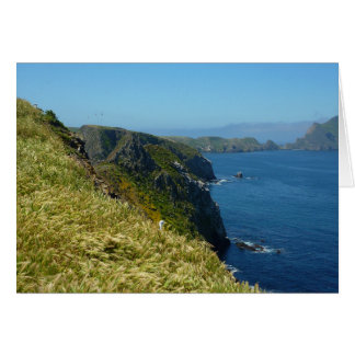 Anacapa's Inspiration Point II in Channel Islands Card