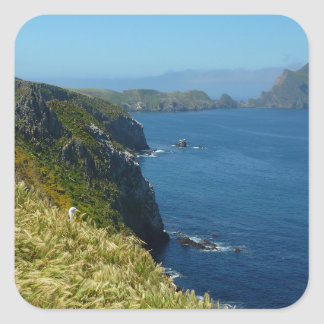 Anacapa's Inspiration Point II in Channel Islands Square Sticker