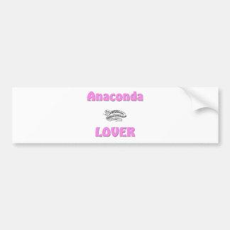 Anaconda Lover Car Bumper Sticker
