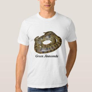 Anaconda verde American Apparel básico T Polera