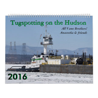 Anacostia & friends: Tugspotting 2016 Calendar