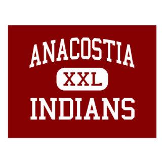 Anacostia - Indians - High - Washington Postcard