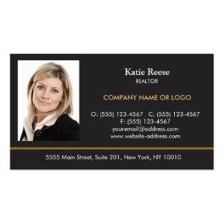 Añada al profesional de las propiedades tarjetas de visita