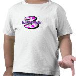Añada camisa del cumpleaños del nombre de su niño