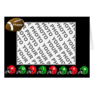 Añada el casco de fútbol americano de la tarjeta d
