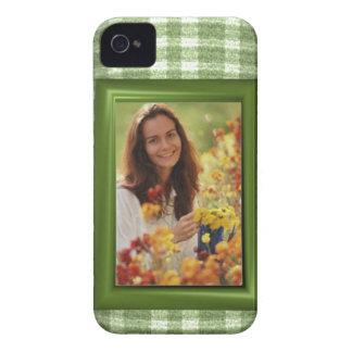 Añada el caso intrépido de la plantilla de la foto iPhone 4 cárcasas