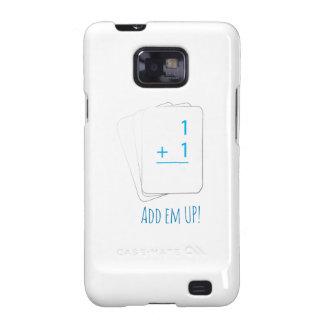 Añada el Em para arriba Samsung Galaxy S2 Funda