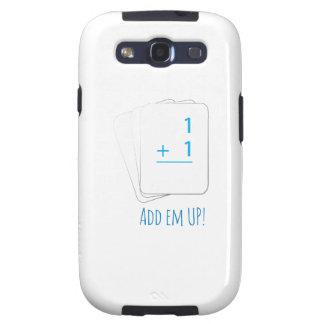 Añada el Em para arriba Samsung Galaxy S3 Coberturas