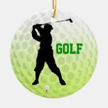 Añada el tee de golf de la foto del ornamento ornamentos para reyes magos