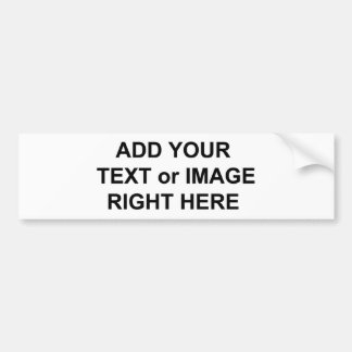 Añada el texto y las imágenes para personalizar lo pegatina de parachoque