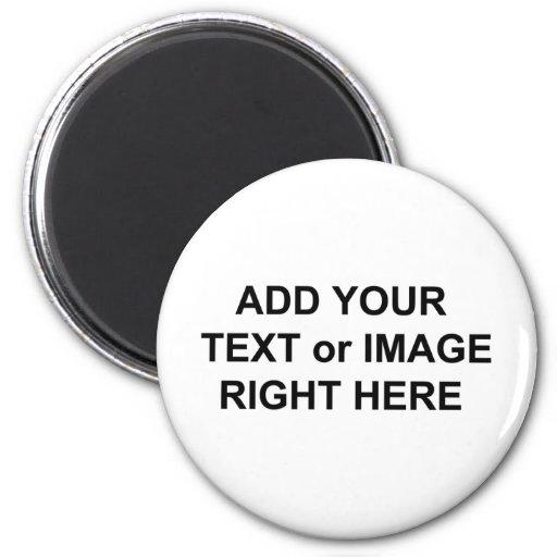 Añada el texto y las imágenes para personalizar lo imán redondo 5 cm