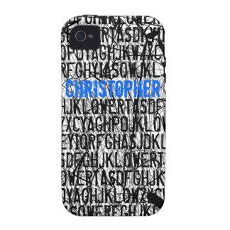 Añada la caja azul de la casamata del iPhone 4 del iPhone 4/4S Carcasa