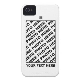 Añada la caja intrépida blanca de Blackberry de la iPhone 4 Case-Mate Carcasa