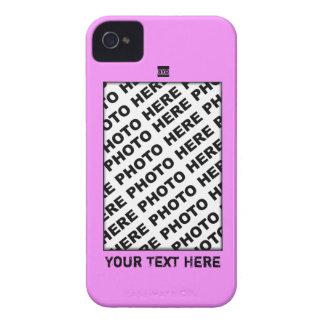 Añada la caja intrépida rosada de Blackberry de la iPhone 4 Cárcasa