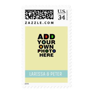 añada la foto de los pares sello postal